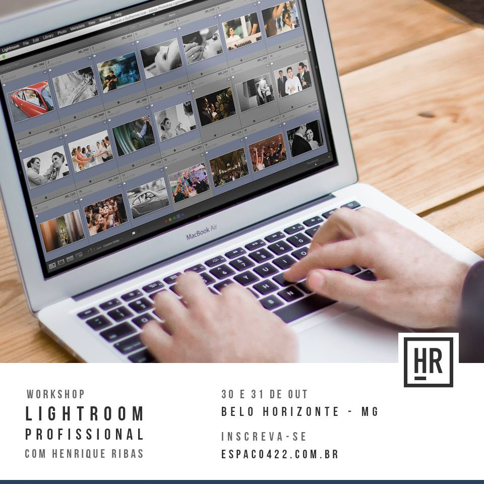 Lightroom Professional com Henrique Ribas